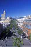 Santa Monica Mall, 3rd gatapromenad i Santa Monica, Kalifornien Arkivbild