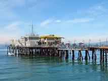 Santa Monica molo - restauracja Zdjęcie Stock