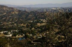 Santa Monica mountains Royalty Free Stock Image