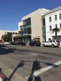 Santa Monica nära 3rd St Royaltyfria Bilder