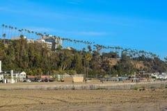 Santa Monica North Beach à Los Angeles image libre de droits