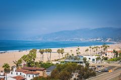 Santa Monica ocean view Royalty Free Stock Images