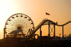 Free Santa Monica Pier Stock Photo - 13272670