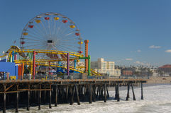 Free Santa Monica Pier Stock Photography - 14426432
