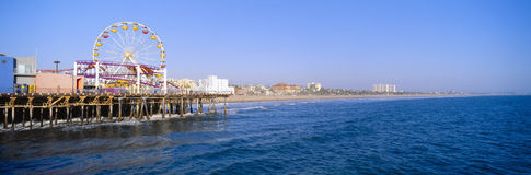 Santa Monica Pier Royalty Free Stock Photo