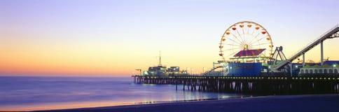 Santa Monica Pier Stock Image