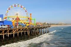 Santa Monica Pier Στοκ Εικόνα