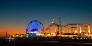 Free Santa Monica Pier Royalty Free Stock Photo - 36731095