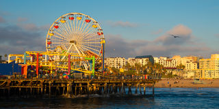 Santa Monica Pier Immagine Stock