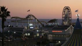 Santa Monica Pier vídeos de arquivo