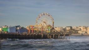 Santa Monica Pier Στοκ εικόνα με δικαίωμα ελεύθερης χρήσης