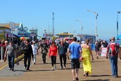 Santa Monica Pier Stockbilder