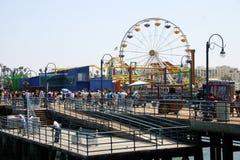 Santa Monica Pier foto de stock