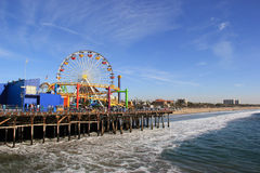 Free Santa Monica Pier Stock Photography - 47116122
