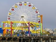 Santa Monica Pier Fotografia Stock