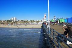 Santa Monica Pier Royalty-vrije Stock Foto's