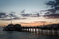 Santa Monica Pier Royalty-vrije Stock Foto