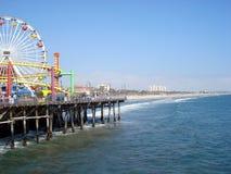 Santa Monica Pier Royalty-vrije Stock Afbeeldingen
