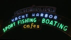 Santa Monica Pier stock video