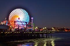 Santa Monica Pier Foto de archivo libre de regalías