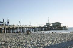 Santa Monica Pier Fotografia Stock Libera da Diritti