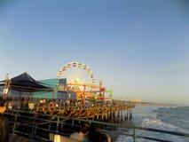 Santa Monica Pier Immagini Stock Libere da Diritti