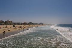 Santa Monica Pier Imagen de archivo libre de regalías