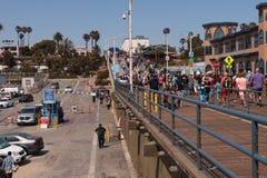 Santa Monica Pier Photo libre de droits