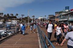 Santa Monica Pier Photo stock