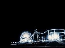 Santa Monica Pier imagens de stock royalty free