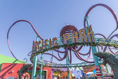 Santa Monica pier amusement Royalty Free Stock Photos