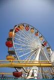 Santa Monica Pier Amusement Park Royalty Free Stock Image