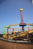 Santa Monica Pier Amusement Park Royalty Free Stock Photography