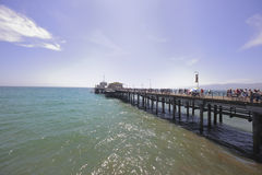 Santa Monica Pier Royalty Free Stock Image