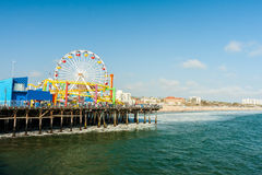 Santa Monica pier Royalty Free Stock Photography