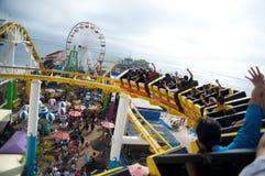 Santa Monica Pier in California Royalty Free Stock Image