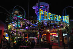 Santa Monica Pier in California Royalty Free Stock Images