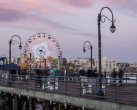 Santa Monica Pier Royalty Free Stock Images