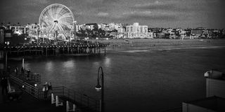Santa Monica Pier Stock Photography
