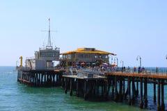 Santa Monica Pier LOS ANGELES Imagem de Stock