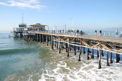 Santa Monica Pier Stock Photography