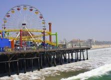 Santa Monica Pier, Los Angeles Stock Images