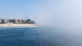 Santa Monica Pier Los Angeles, Kalifornien, USA - September 29, 2017 Arkivfoto