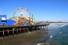 Santa Monica Pier, Los Angeles Stock Image