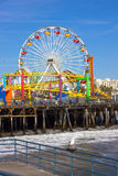 Santa Monica Pier, March 16th 2011 Stock Photo