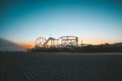 Santa Monica Pier stockfotografie