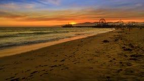 Santa Monica Pier Sunset metrajes