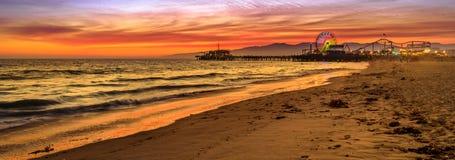 Free Santa Monica Pier Sunset Stock Photography - 173314782