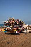 Santa Monica Pier Vendor Royalty Free Stock Photo