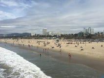 Santa Monica Pier View Stock Photos